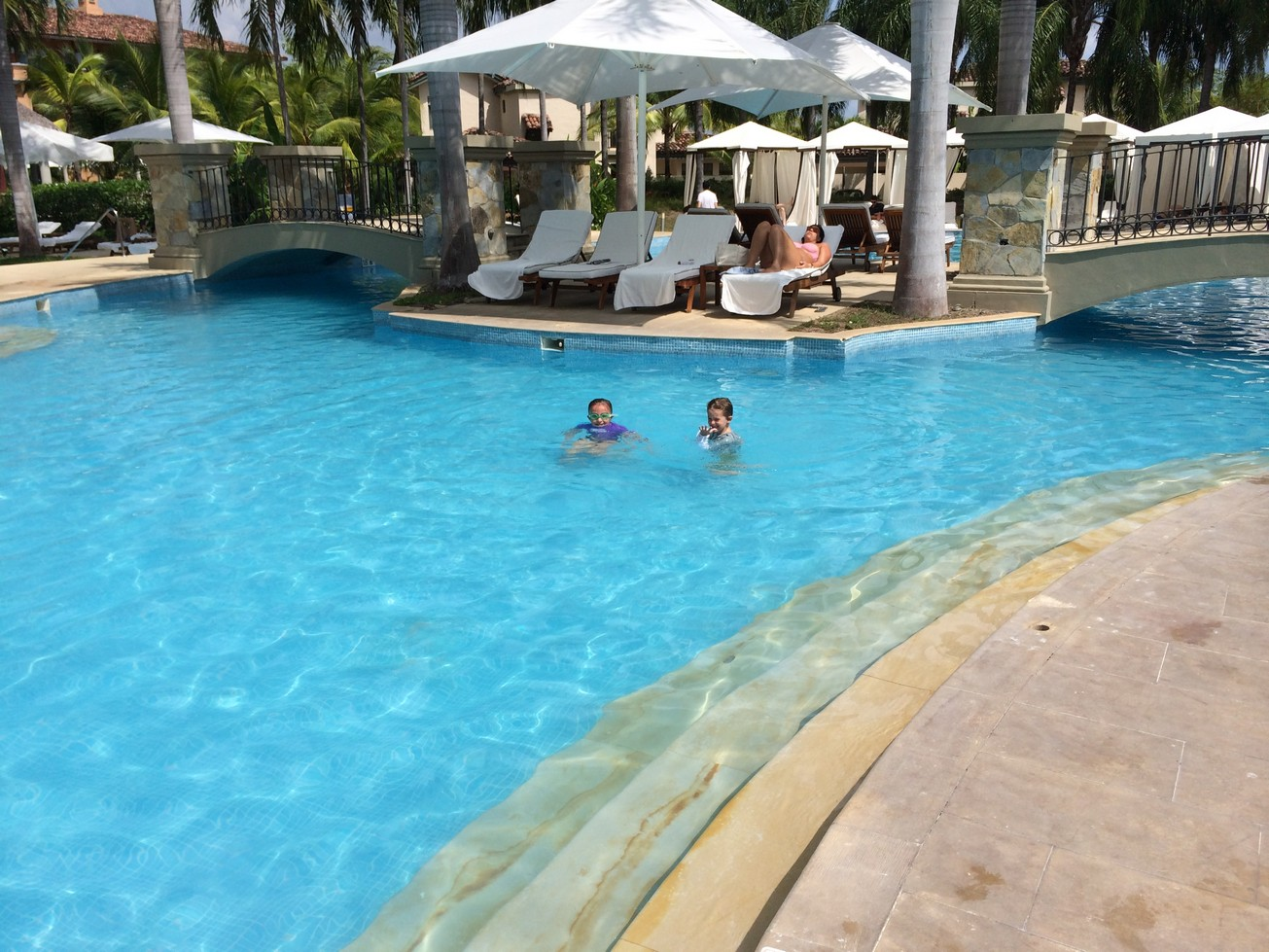 We all loved the pools and hardly left them during our stay.
