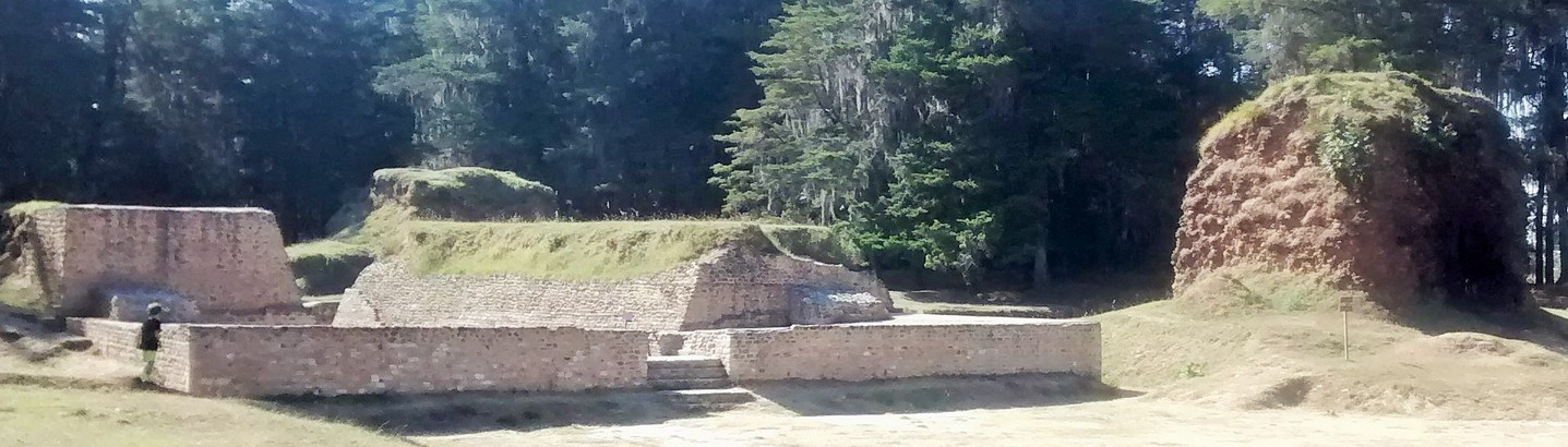 This was/is the central plaza of town. The big structure to the right was the main temple.