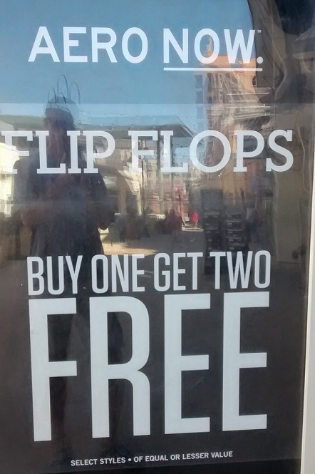 Do you get two free left ones or two free right ones?