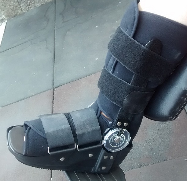 The boot was brand new and even came with an allen wrench to adjust the angle.