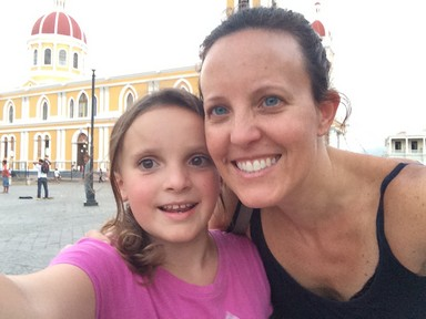 Ela & I in the main square in front of Catedral de Granada. We had a blast on our girl vacation day.