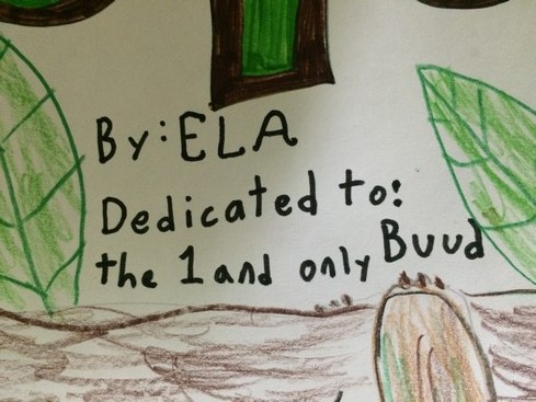 My mother was constantly telling Ela to bring home a sloth. Well, this is about as good as it gets for her.
