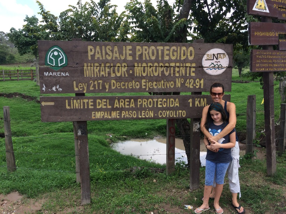 Ela and I at the entrance to the National Park. If we hadn't gone through Tree Huggers non-profit organization, I'm not sure where or how we would have paid the entrance fee. There was no guard station anywhere we drove.