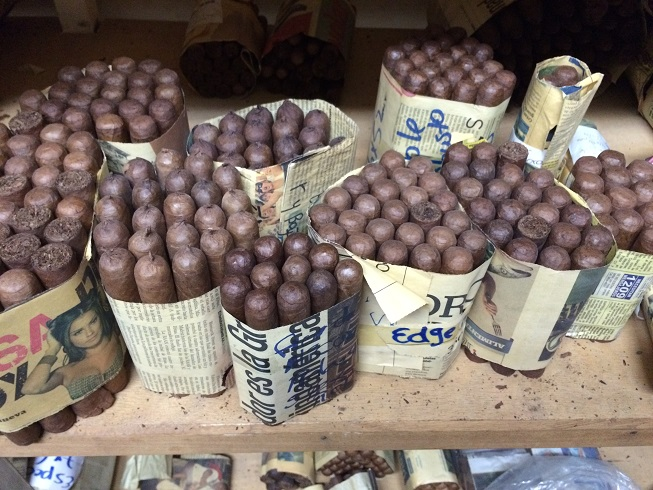 The mountain town of Esteli, Nicaragua is world-reknown for it's cigars. Many Cubans immigrated to Esteli and took seeds with them. They are essentially growing cuban plants and making cuban cigars in Esteli. The kids and I took a tour of one of the factories, and we learned a lot.