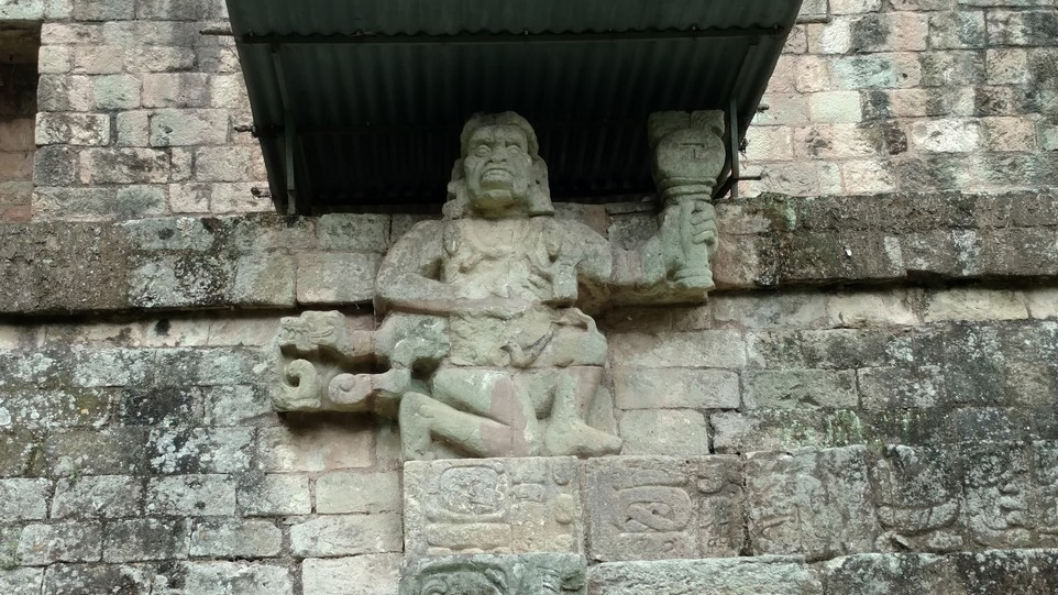 Many of the statues represent former kings of this land.