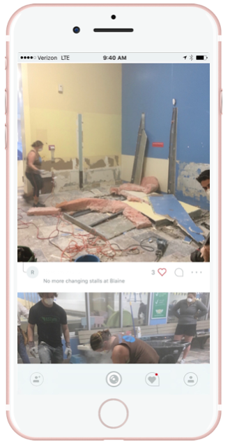 There is lots of change and it is hard to keep the team up to speed. Teams not only communicate the change but use Quill to document the change over the course of an entire project. One team logged more than 3,000 photos during the opening of a hotel. The before and after is amazing.