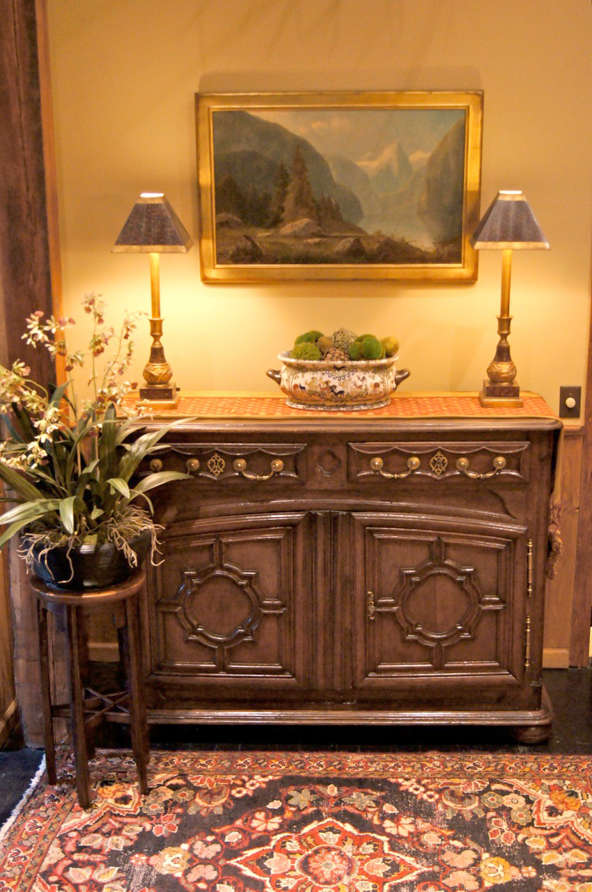 One-of-a-kind antiques will add that special touch to your décor.