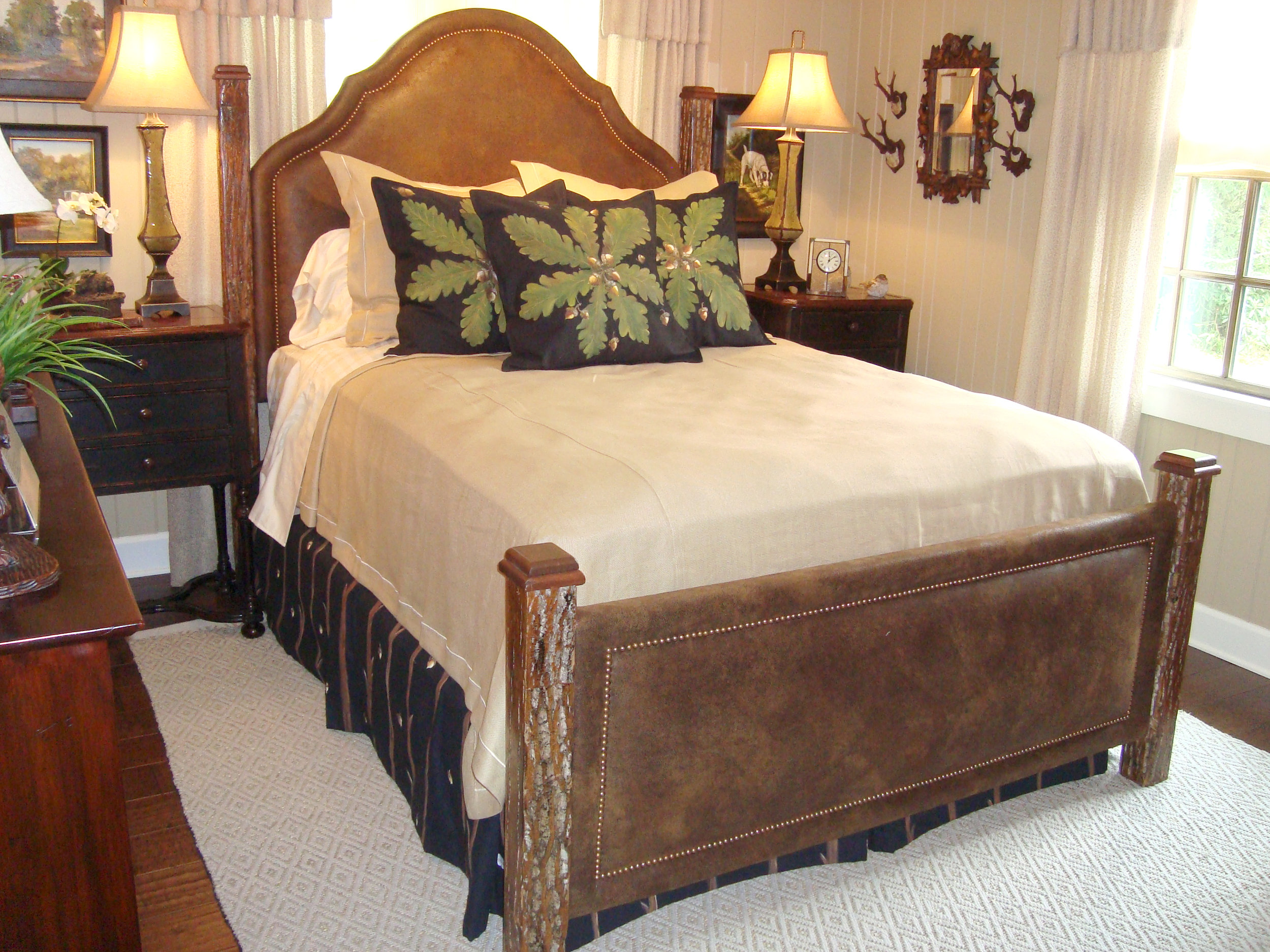If we don't have the right look for you, let us design a bed to your specifications and built it on site by our Tiger Mountain Woodworks workshop. We can make where you dream a reality.