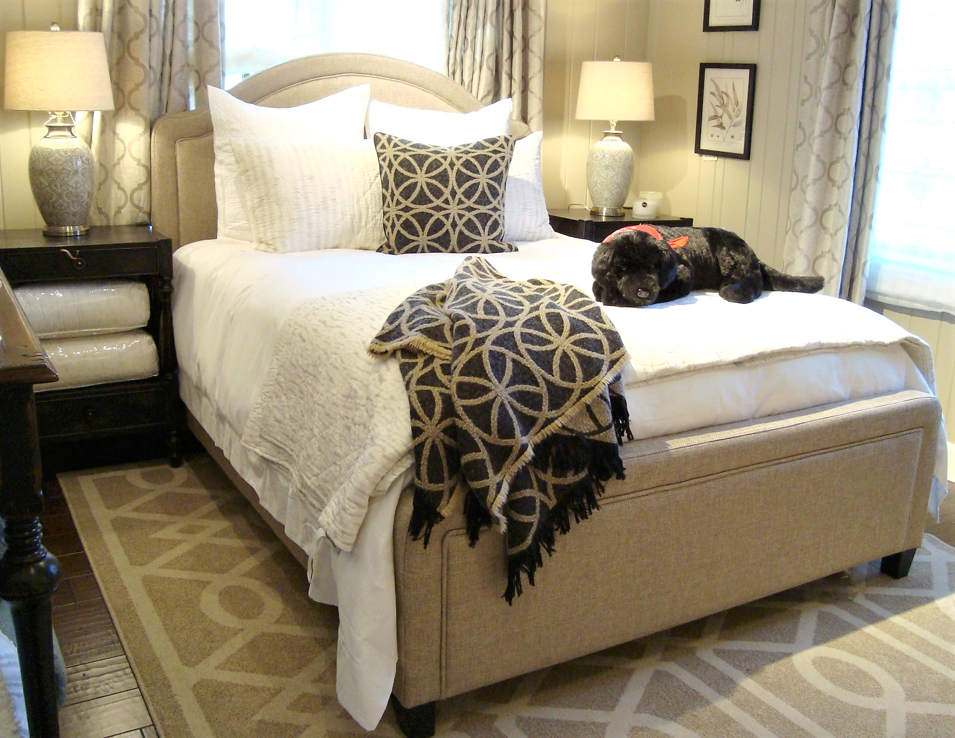 Our experienced designers will help you with any special requests. Custom sizes, special finishes and personal designs to suit your needs and lifestyle. We also carry a full line of mattresses on display in a separate room for you to try.