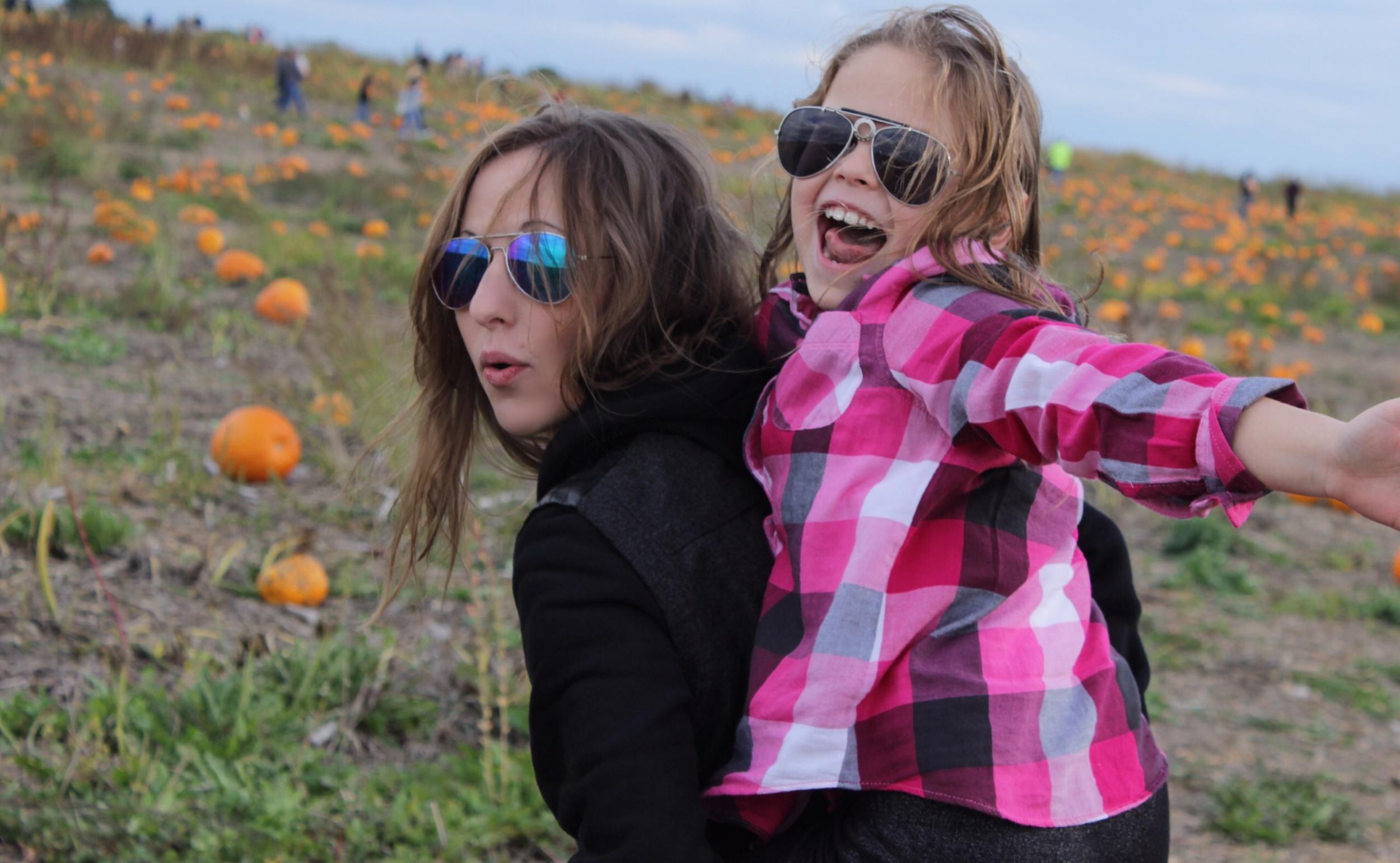 Pumpkin Patch with my lovelies