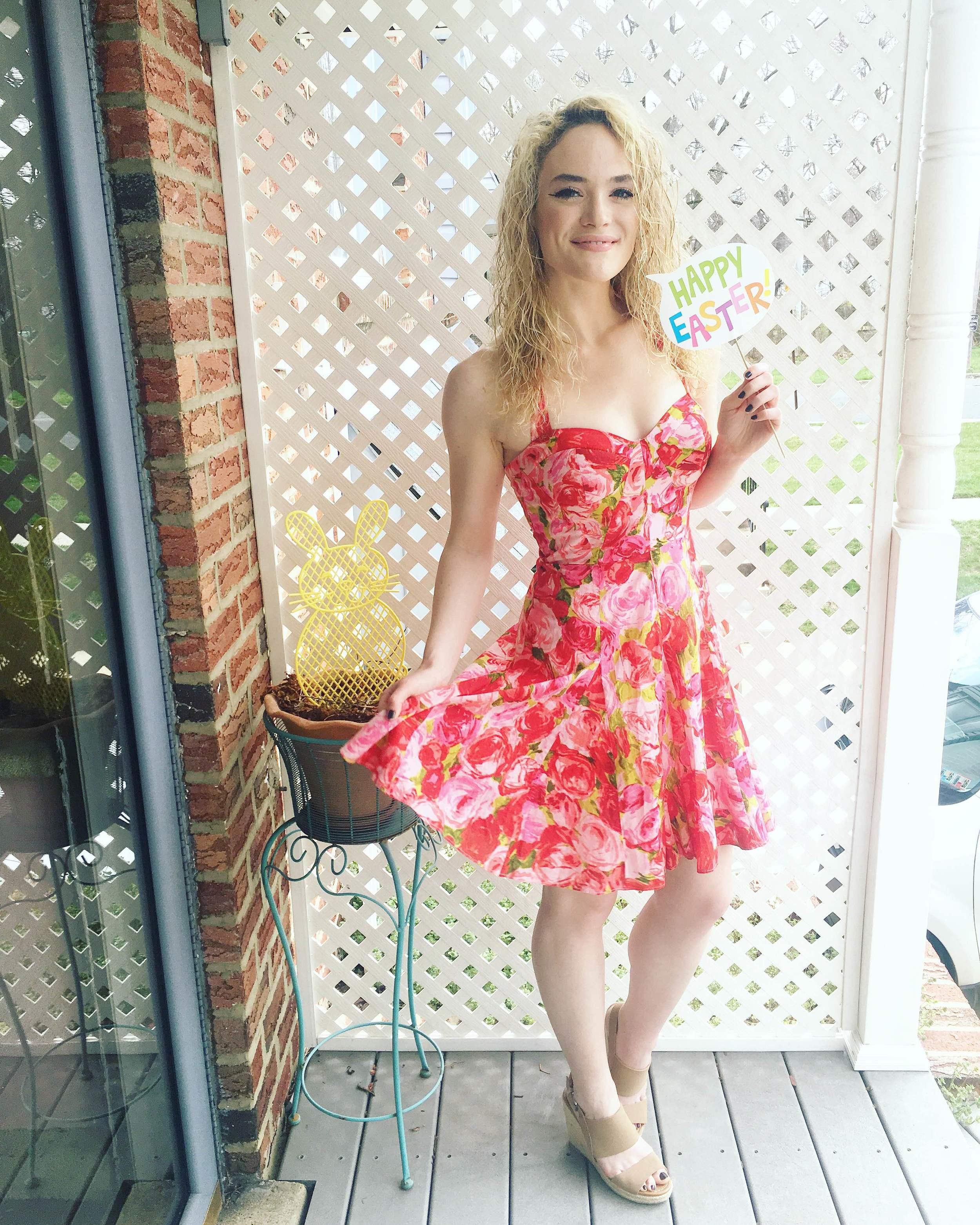 easter  dress .
