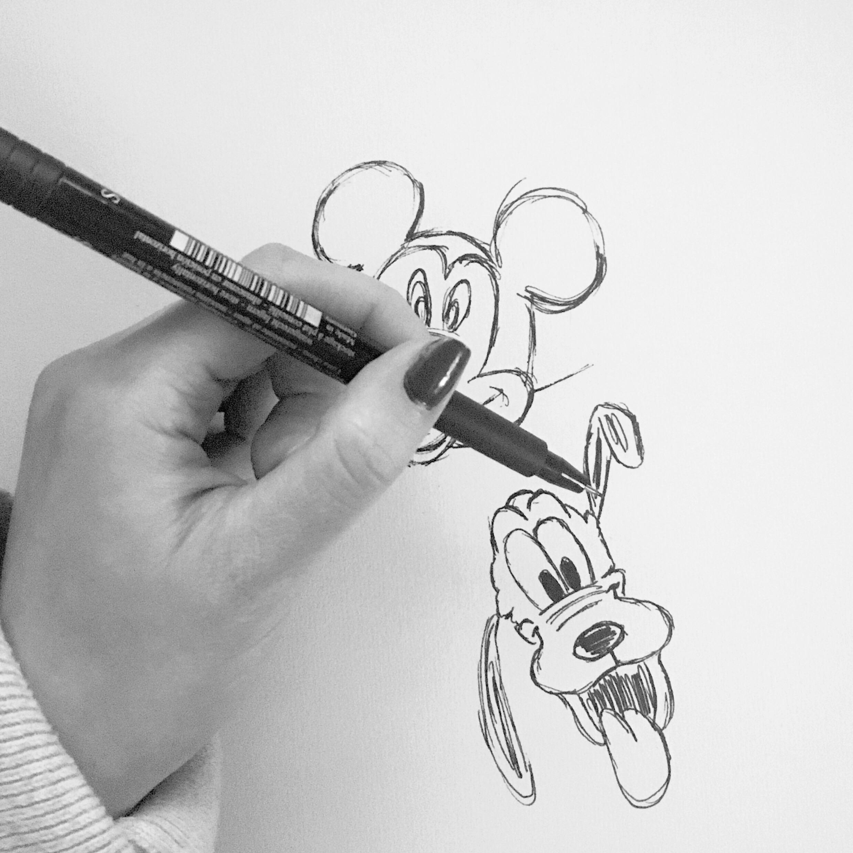 little sketch.