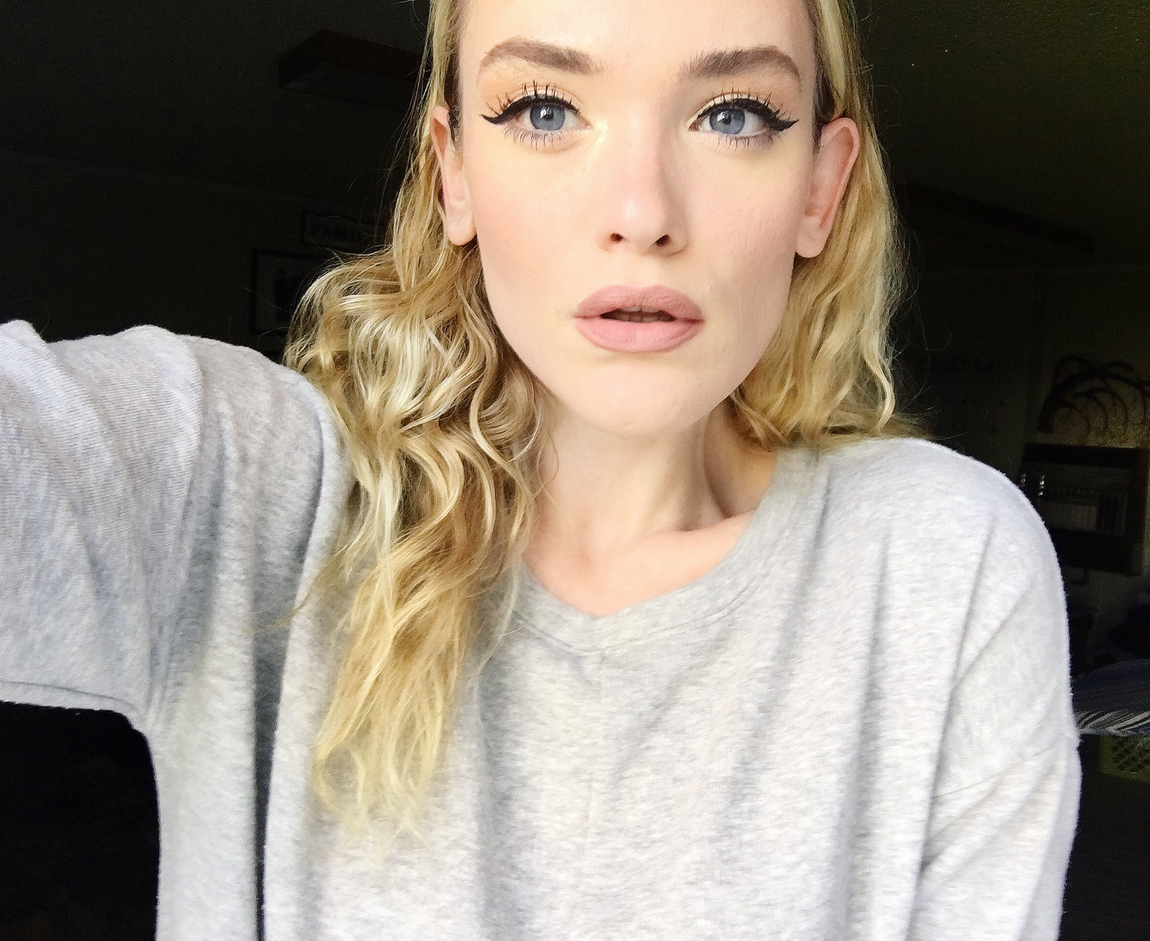 playing with new makeup - day + night looks :)