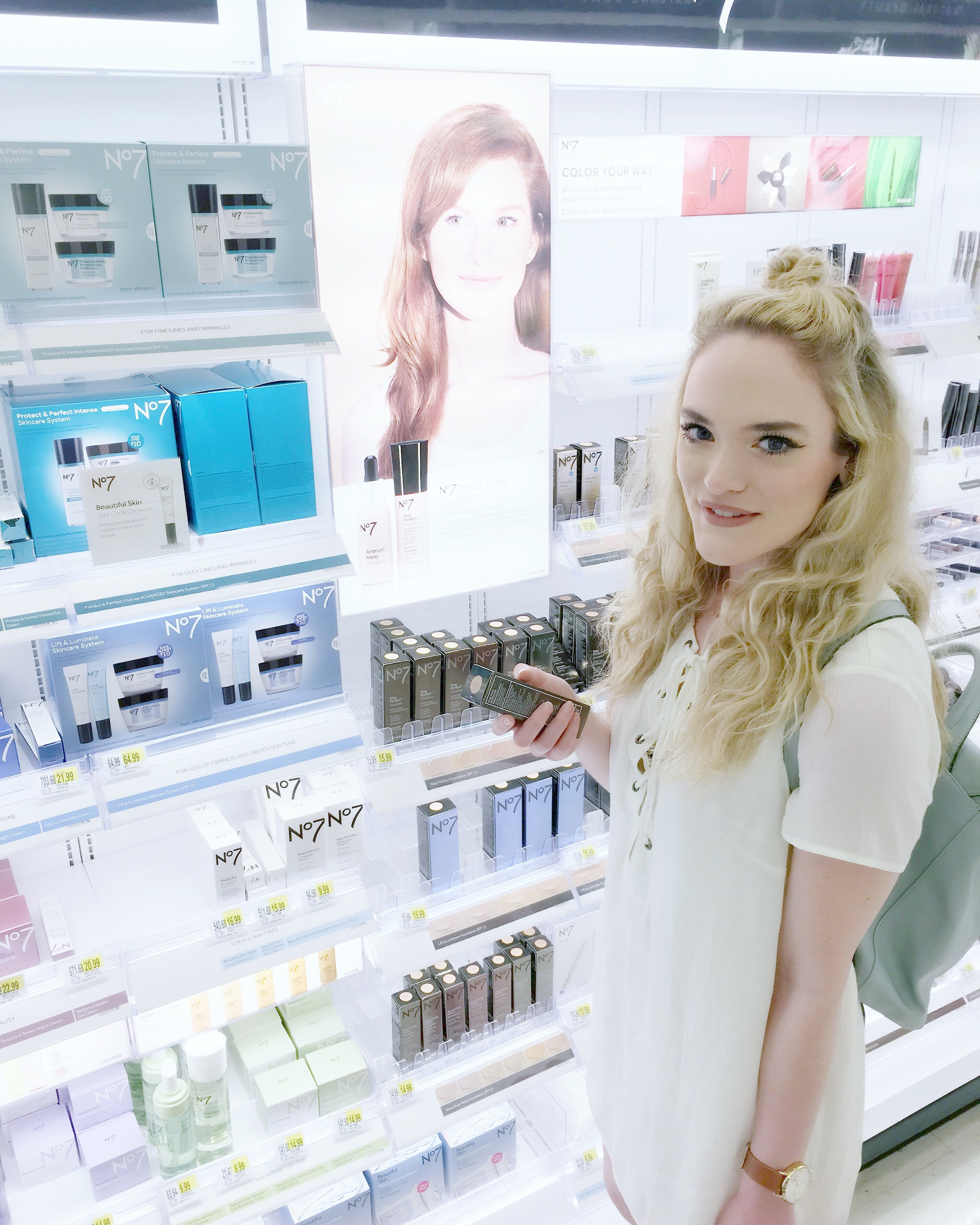 picking up some new makeup - can't wait to show you all some tutorials :)