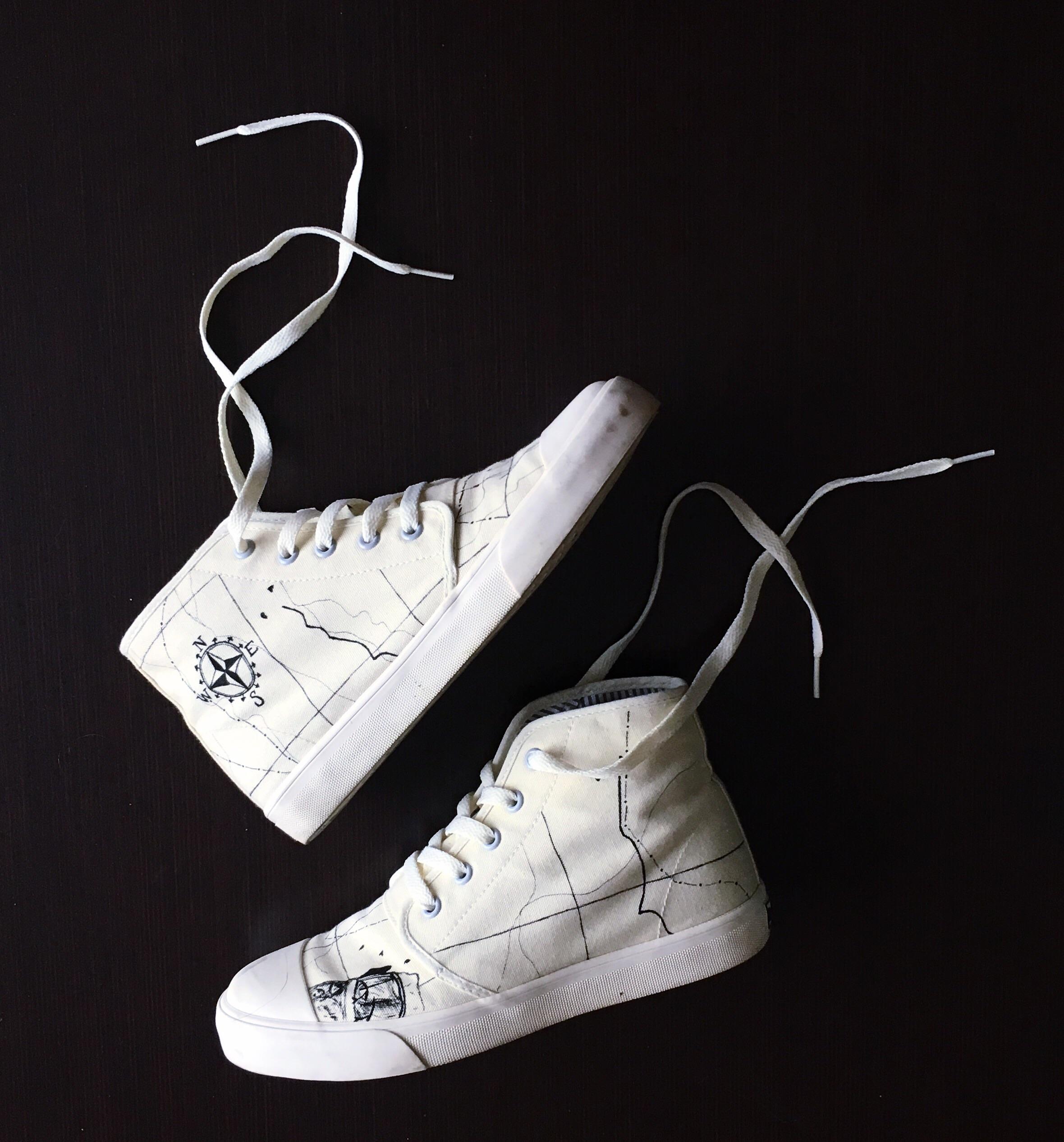 adventure shoes.