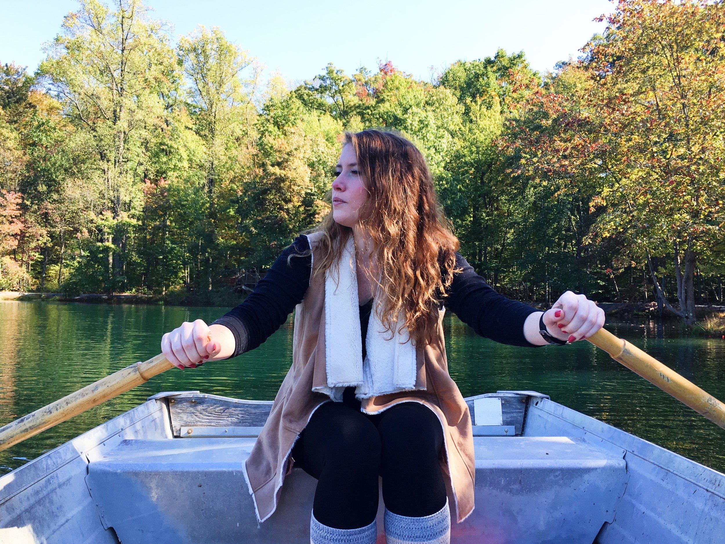 my rowboat captain.
