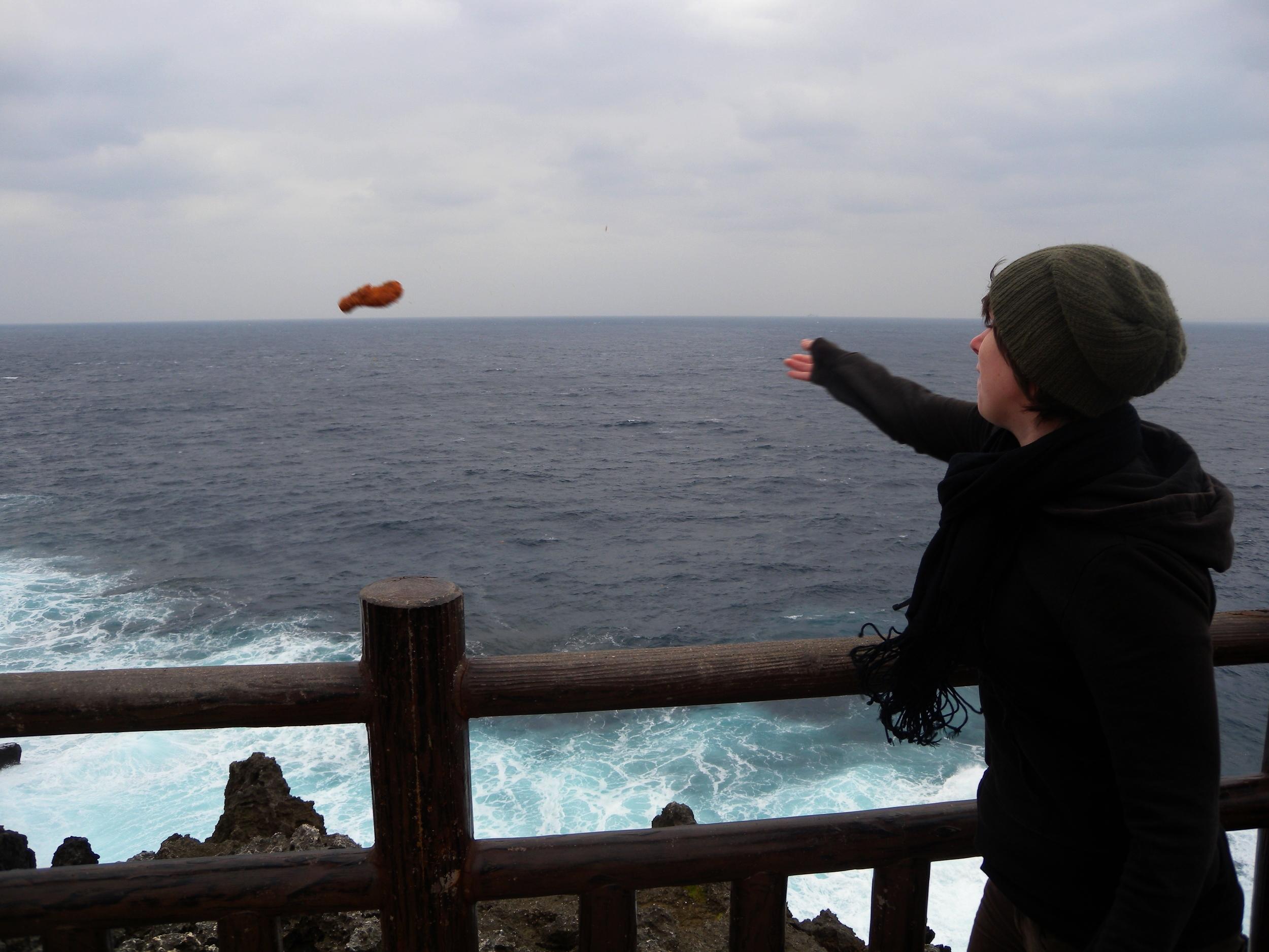 Backpacking Okinawa.