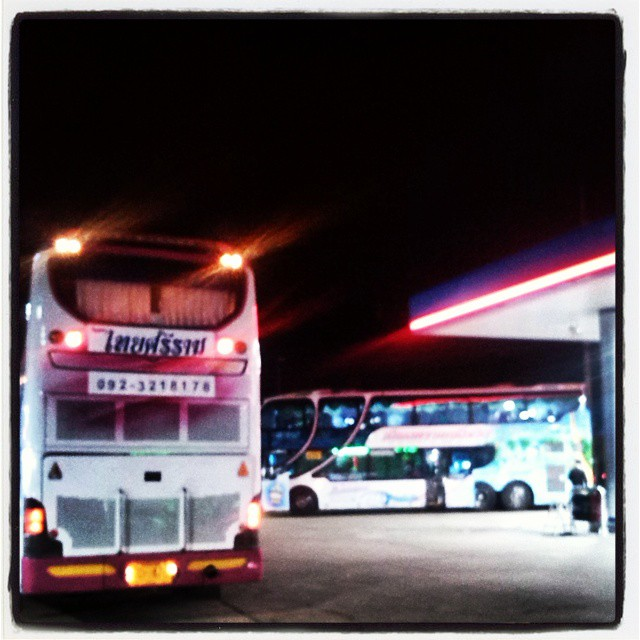 The ubiquitous night busses of SE Asia