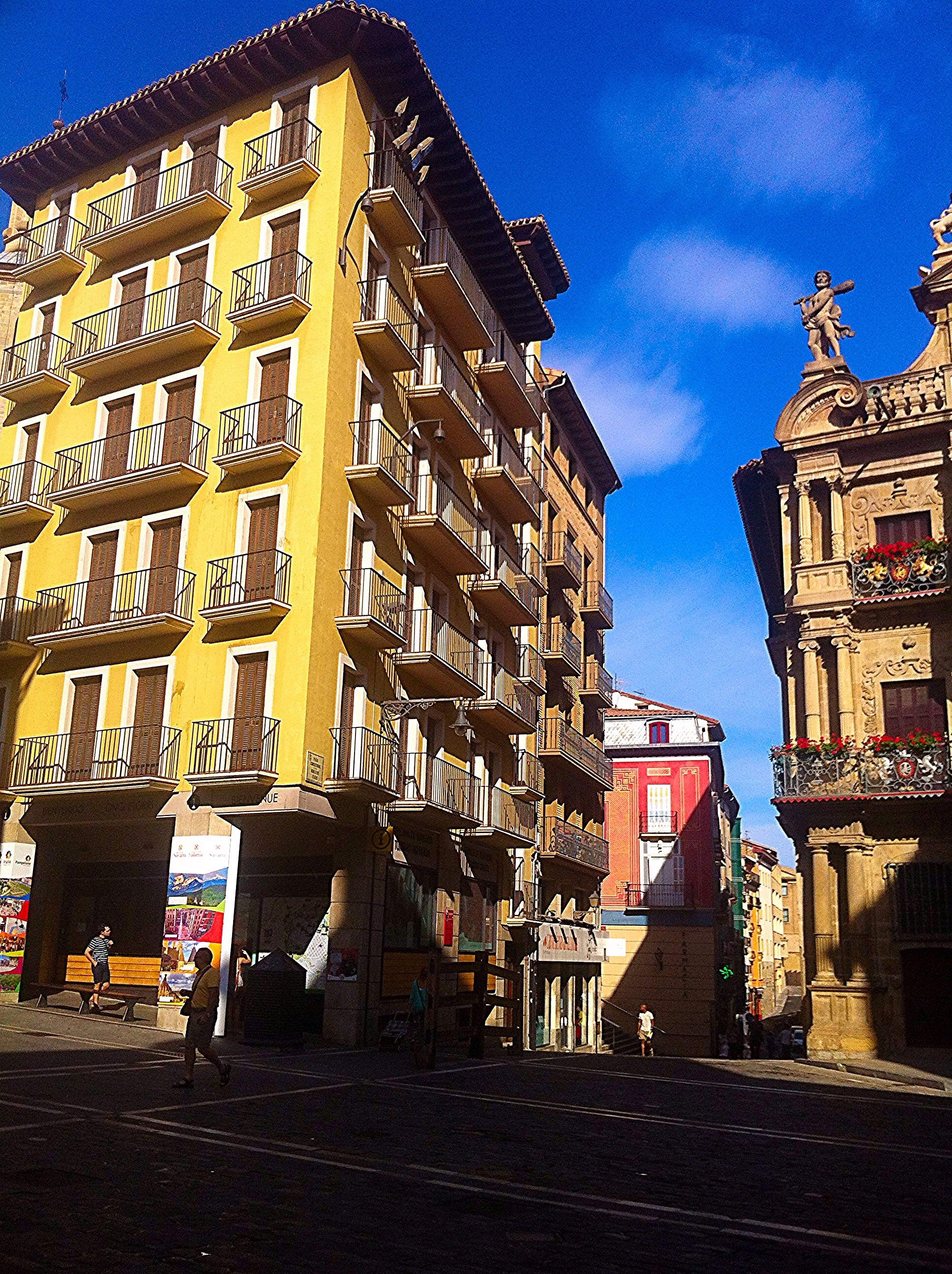 Strolling through Pamplona