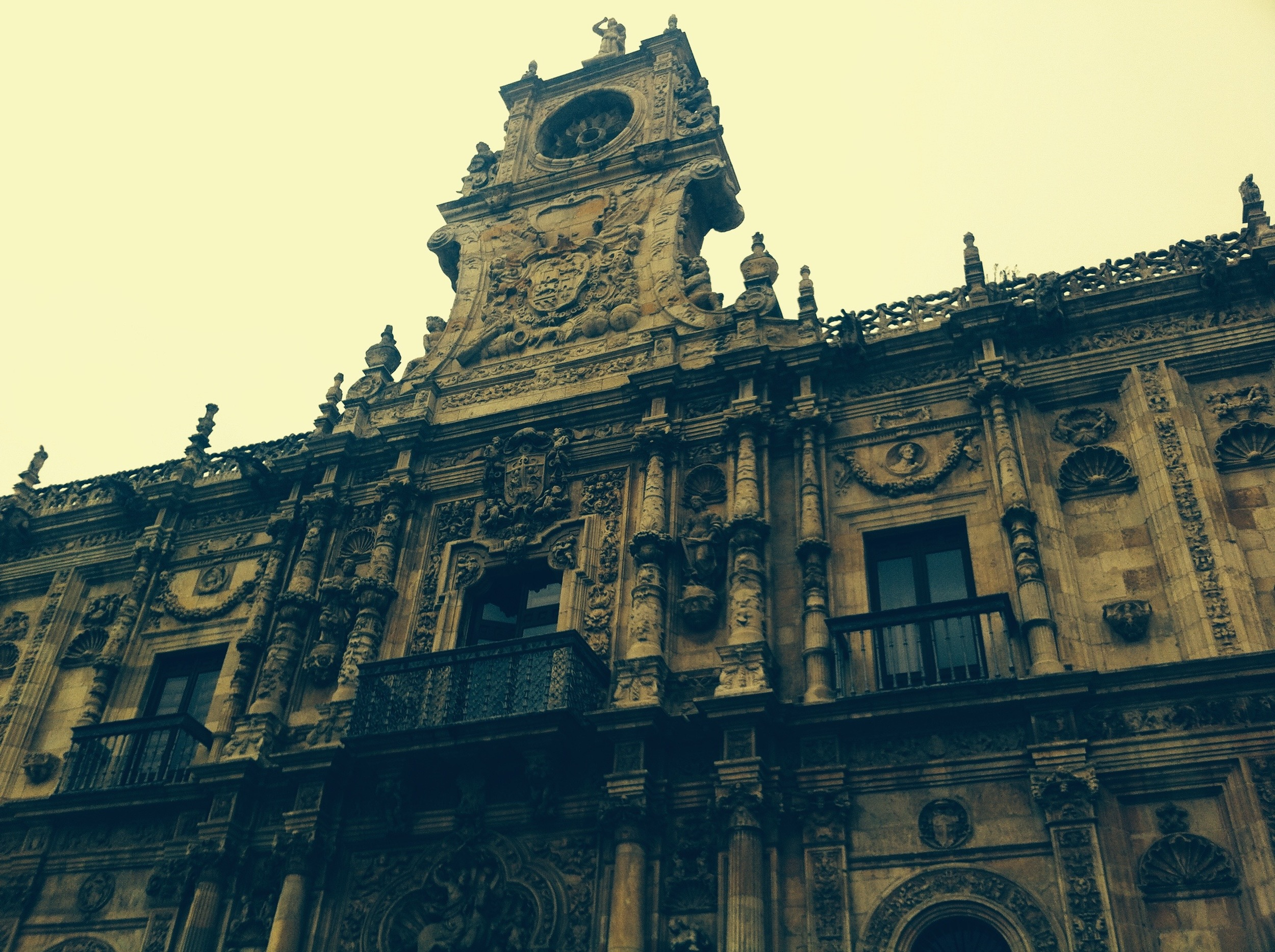 The Five Star Parador in Leon...not cheap.