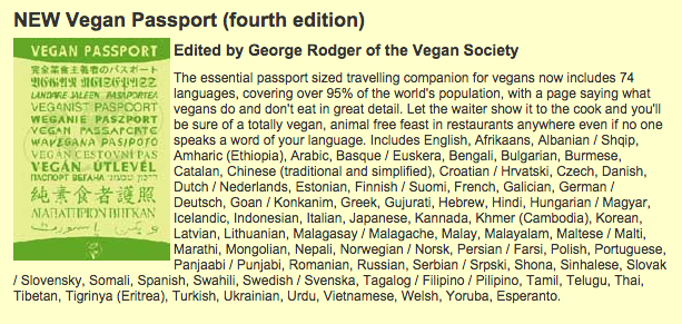 From  Vegetarian Guides