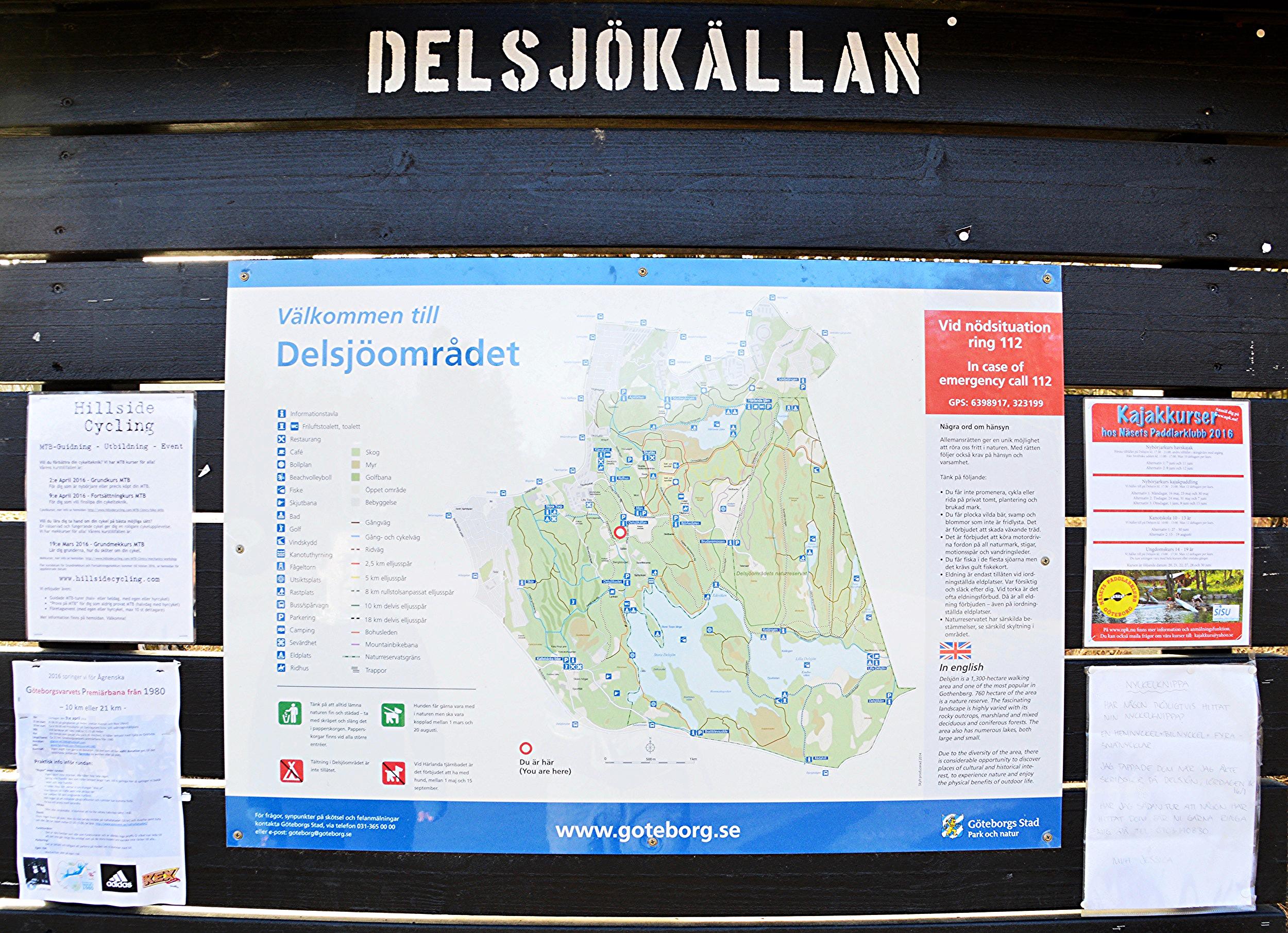 Budget travel in Sweden. Hiking in Sweden.