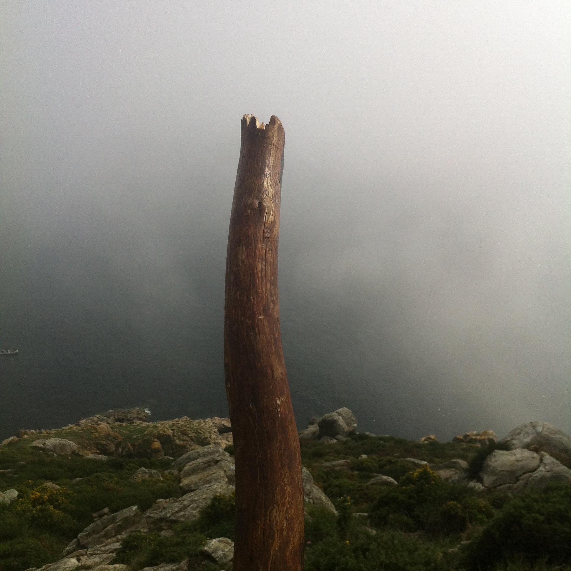 My walking stick on The Camino de Santiago.