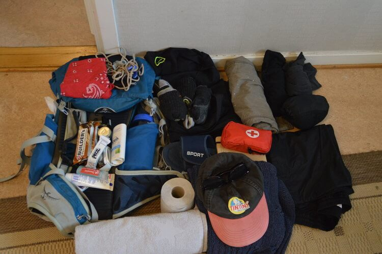 Packing for the Camino