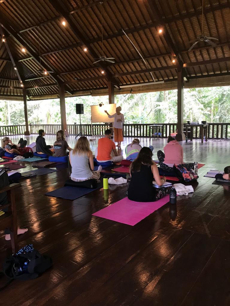Teaching in Bali at Peter Caugheys 30 Day Qigong Teacher Training program