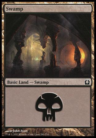 MTG Basic Land Swamp