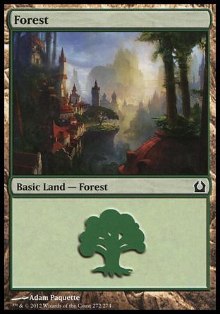 MTG Basic Land Forest