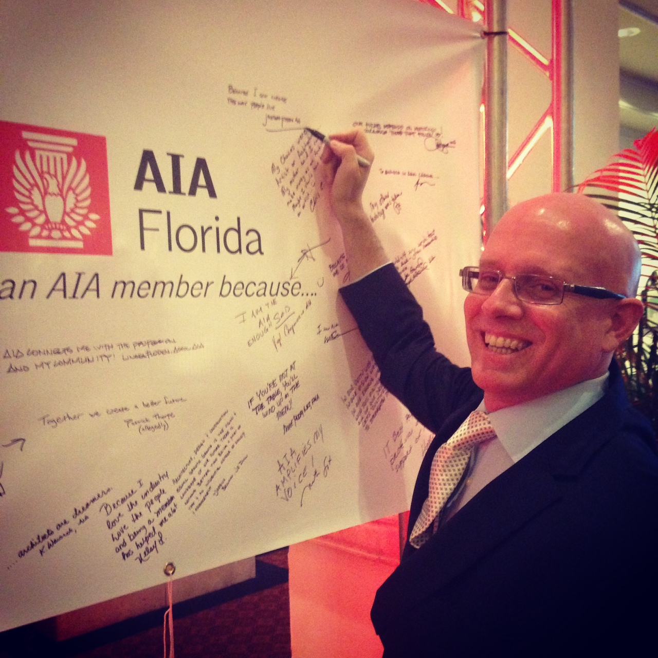"""I am an AIA member because...""""I want to change the way people live."""""""