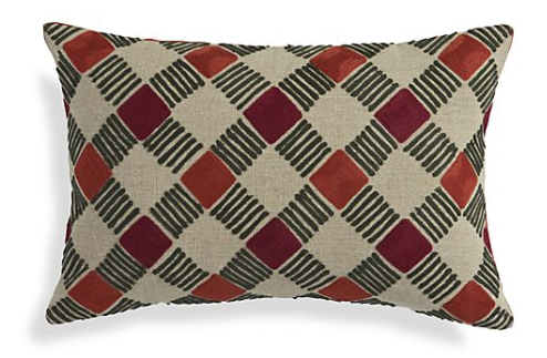 Crate & Barrel Neela Pillow $44.95