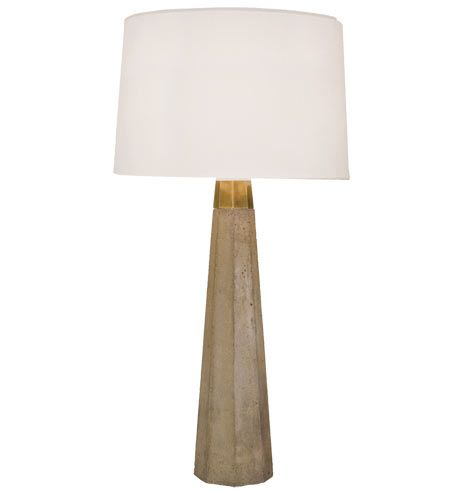 Shades of Light Concrete Column Table Lamp $298