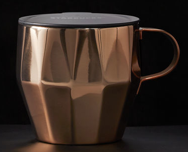 Starbucks Copper Facet Mug $16.95