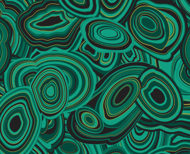 Jonathan Adler Malachite Wallpaper $300