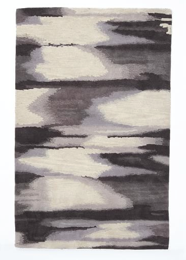 West Elm Faded Ikat Wool Rug $149