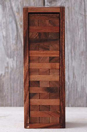 Terrain  Wooden Tumbling Tower  $28