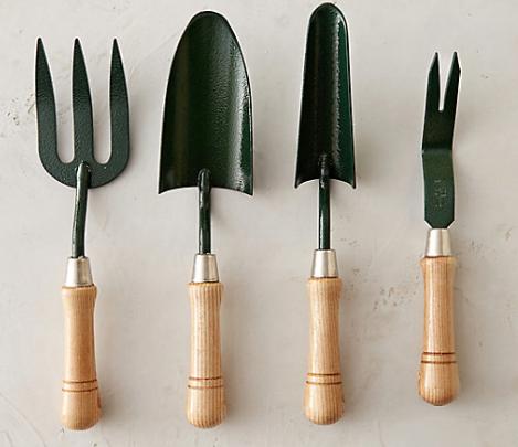 Terrain  Clarington Forge Hand Tool Gift Set  $98
