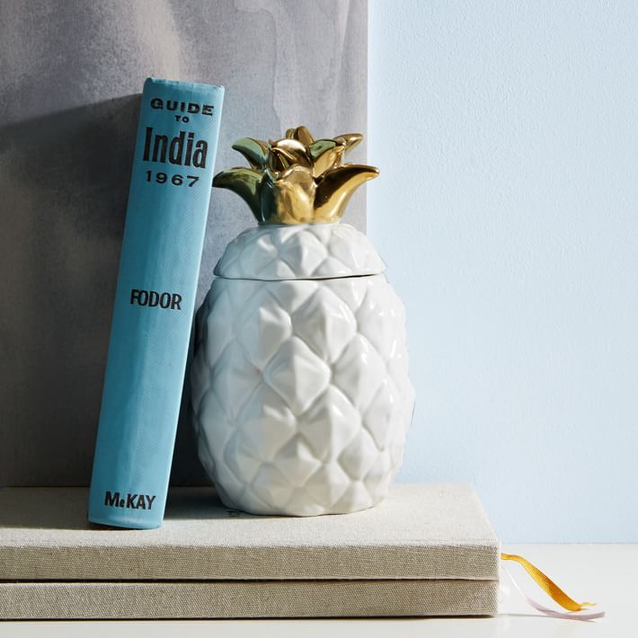 West Elm Pineapple Scented Candle $29