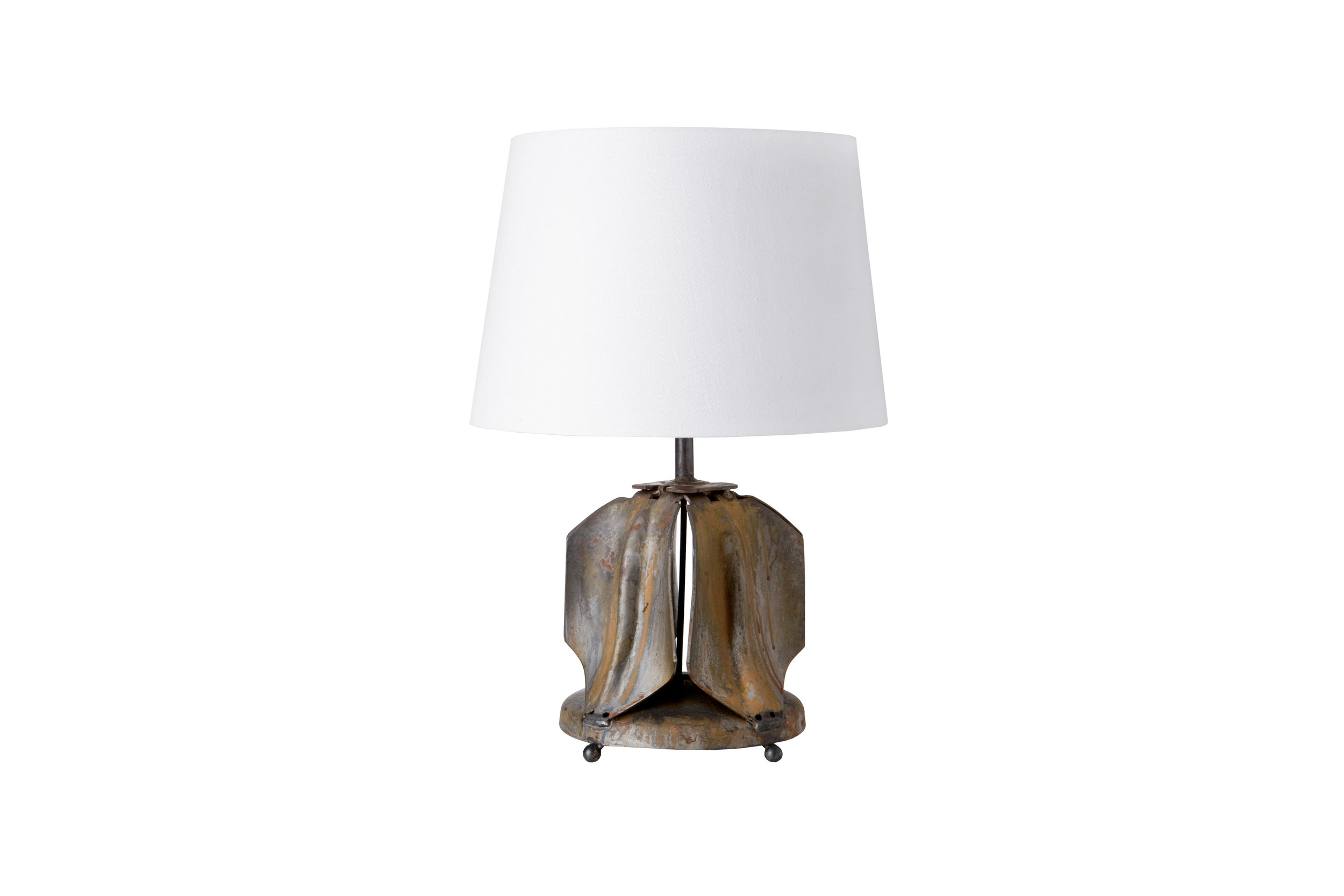 Cisco Brothers  Vintage Oil Plug Table Lamp  (Available through your designer)