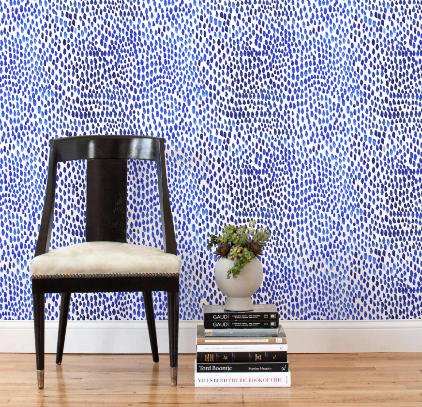 Hygge & West -  Lina Rennell - Raindrops  (tiles) $58/2 tiles
