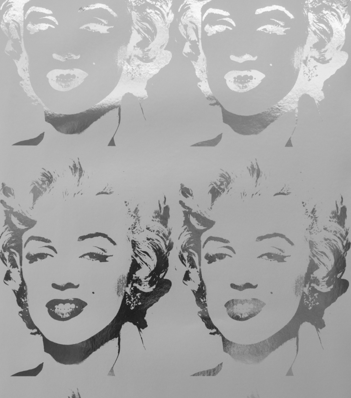 Flavor Paper -  Andy Warhol - Marilyn Reversal  $245/roll
