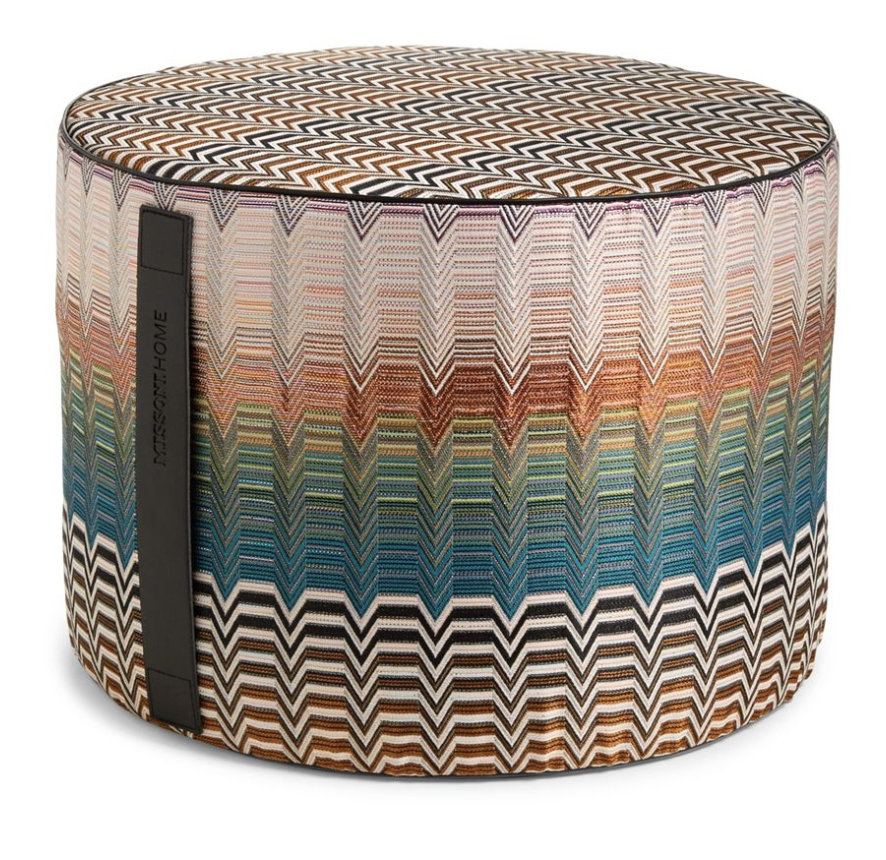 Missoni Home -  Santa Fe Seattle Pouf  $773