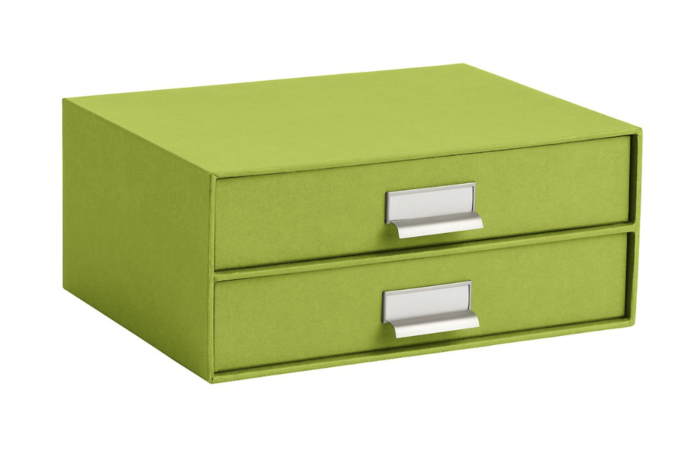 The Container Store -  Bigso Green Stockholm Paper Drawers  $25