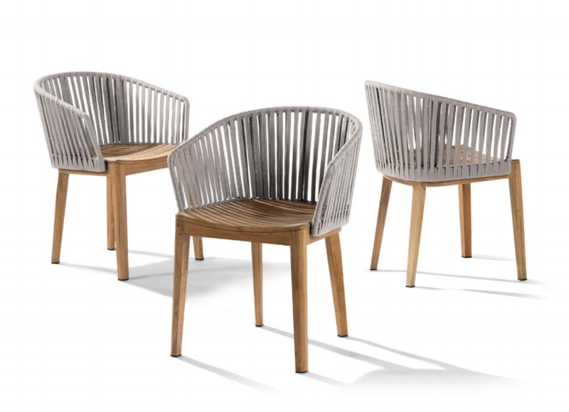 Janus et Cie - Mood Chair in Silver  Available through your designer
