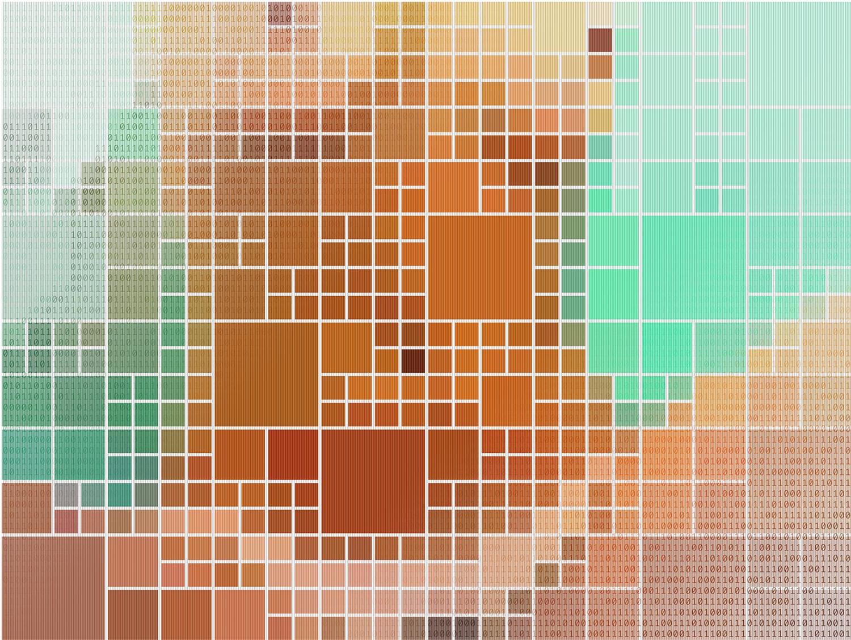 Binary Nude #4 •2005 •Photograph, lenticular print •29.5x 39.3 in