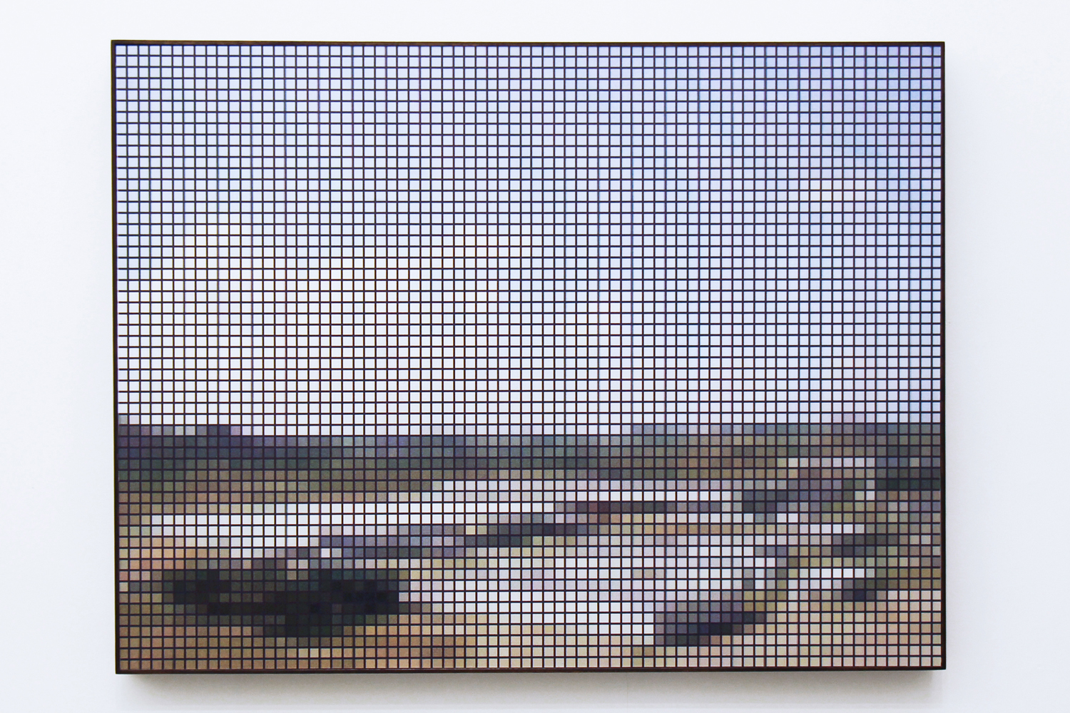 Ipojuca (After Post) • 2010 •  Photograph, lenticular p rint • 29.9 x 39.3 in