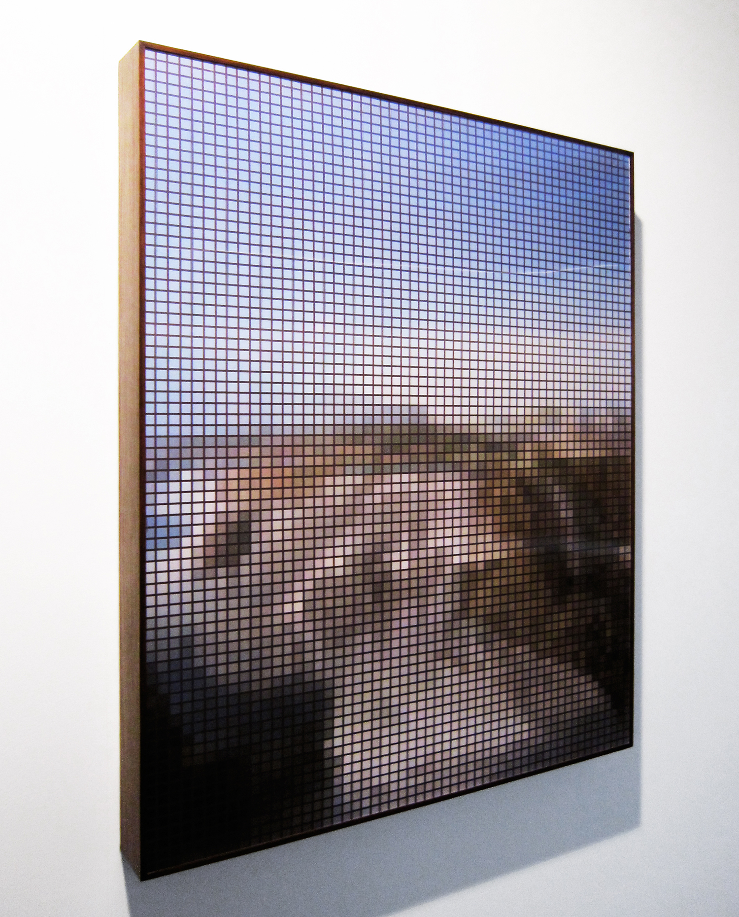 Paulo Afonso Falls (After Post) • 2010 •   Photograph, lenticular print     •   39.3   x 29.5 in