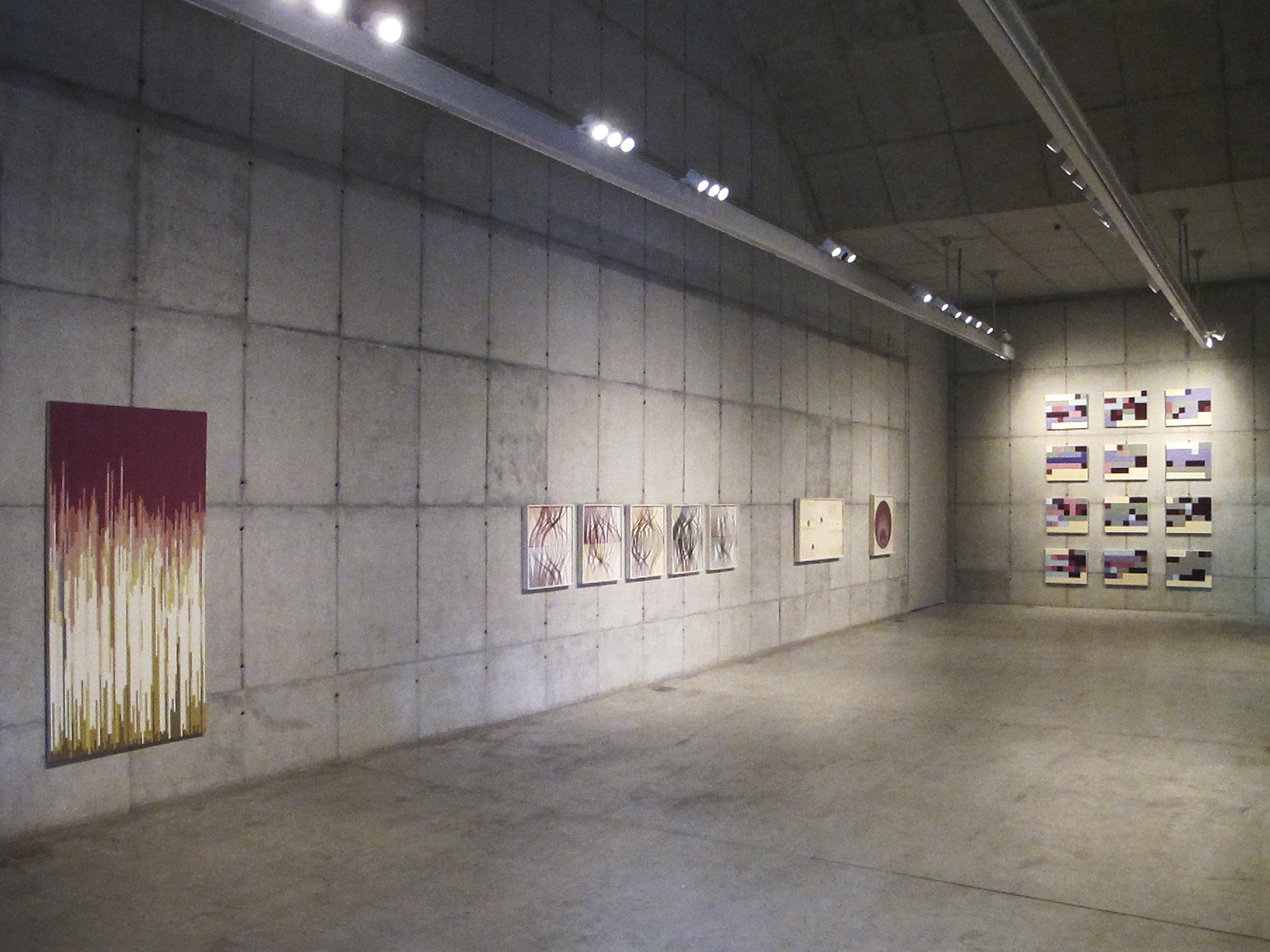 Statistical  Self-portraits  • General view of the exhibition, Galeria Leme • 2012